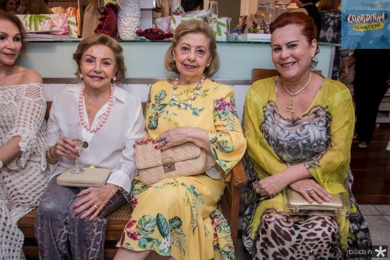 Helena Cidrao, Lucia Pieri e Aparecida Alencar