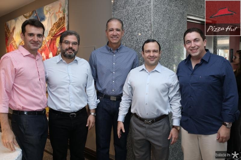 Ferando Gurgel,Edson Neto,Regis Medeiros,Igor Barroso e Rodrigo Pereira