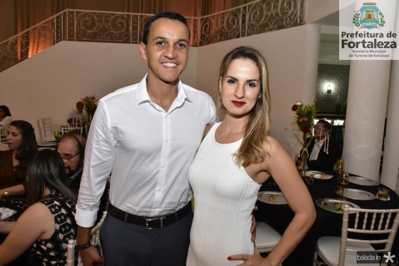 Danilo e Ruena Araujo