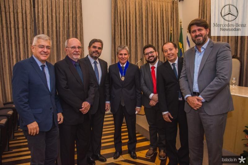 Paulo Censar Noroes, Edson Queiroz, Padua Lopes, Inacio Aguiar, Dudu Rodrigues e Rafael Rodrigues