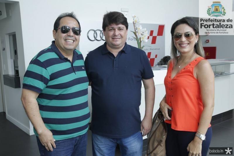 Fabio Sales, George Lima e Gerlane Cavalcante