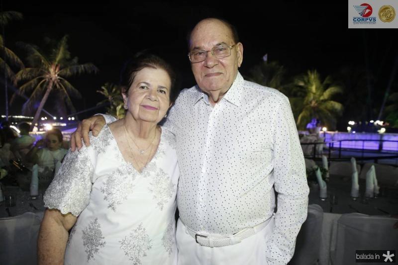 Elisa Gradvohl e Gil Bezerra