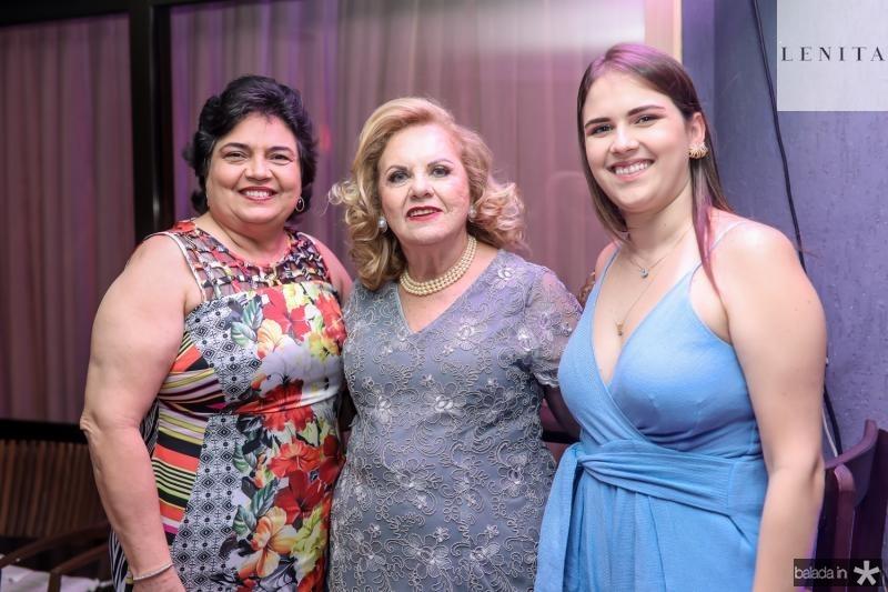 Ana Valeria, Dulce Lucena e Renata Farias