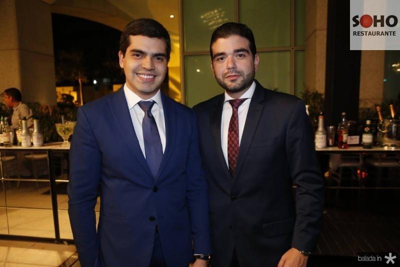 Pedro Garcia e Stenio Suleiman