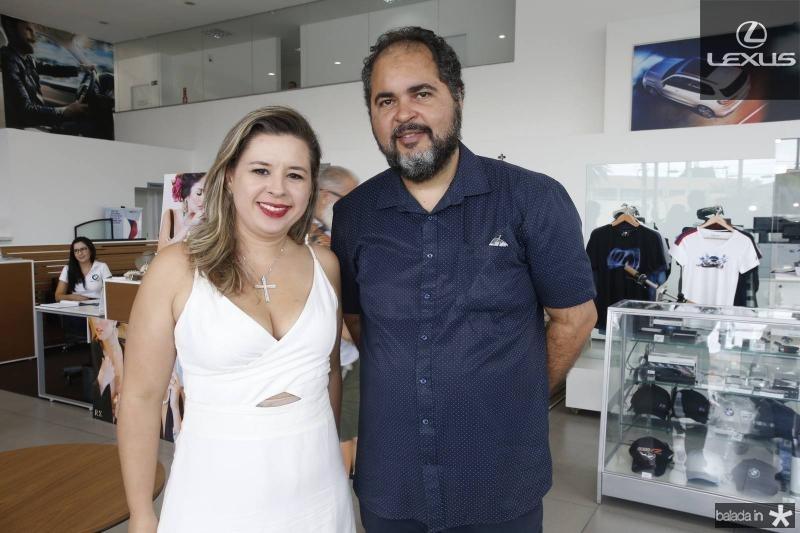 Camila Ximenes e Marcos Vinicius