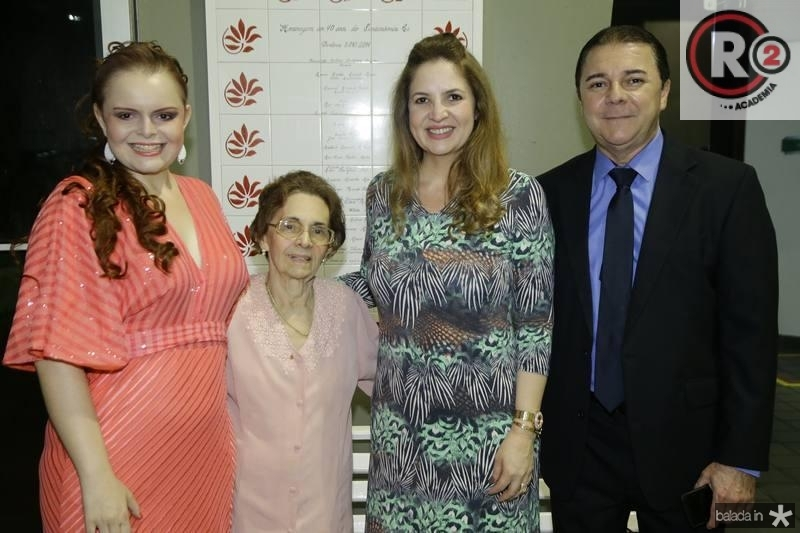 Evelise Rorne, Zeuza Eduardo, Enid Camara e Eliseu Barros
