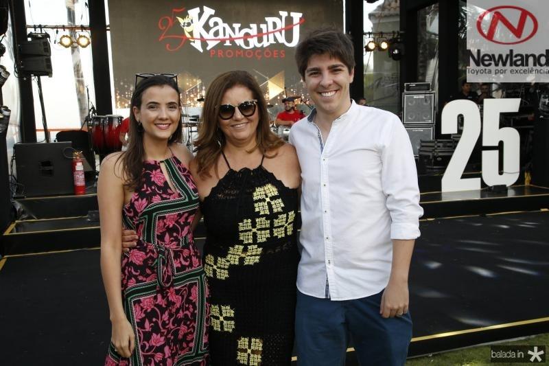 Paloma e Islane Vercosa e Carlos Almeida