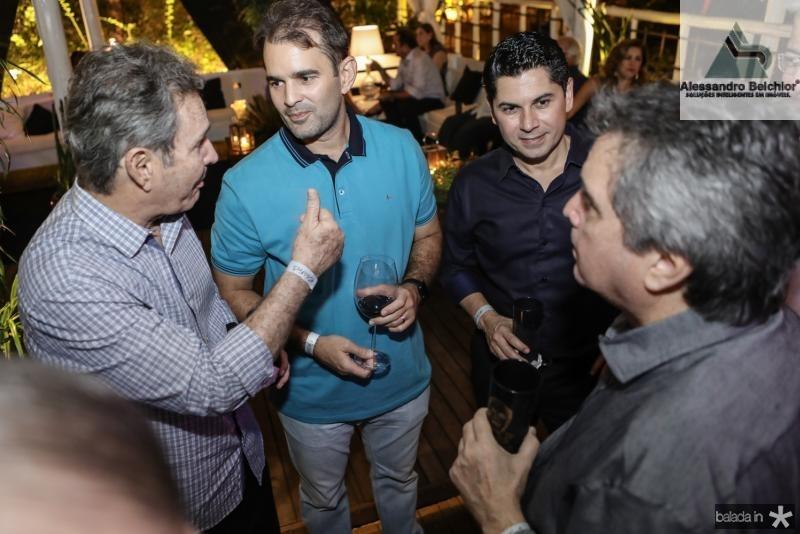 Claudio e Abelardo Rocha, Pompeu Vasconcelos e Totonho Laprovitera