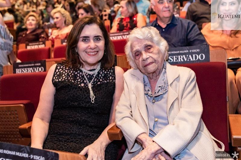 Francilene Gomes e Adísia Sá