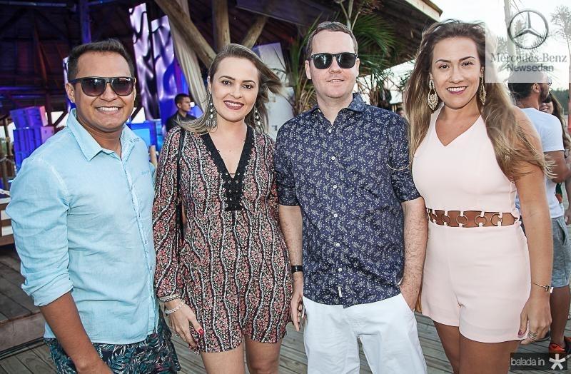 Caio Barbosa, Michele Viana, Cesar Doria e Carol Bocci