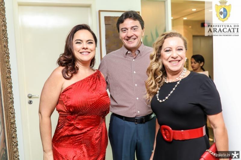 Denise Cavalcante, Luis e Bricia Teixeira