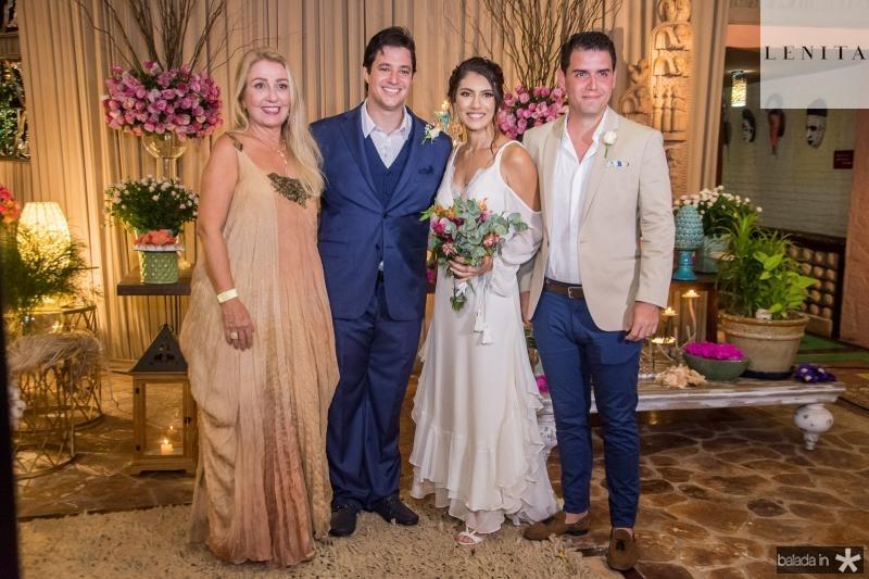 Cecilia Pinheiro, Joao Cabral Filho, Carla Braga e Eduardo Vilela