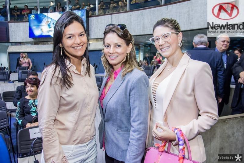 Naiane Rios, Erica Dias e Elaine Aragao