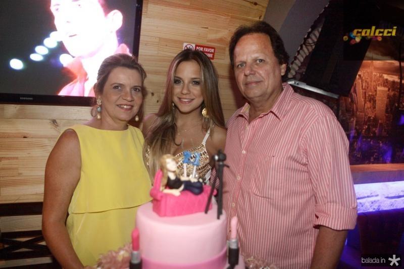 Geni Correia Lima,  Fernanda Levy e Wilton Correia Lima