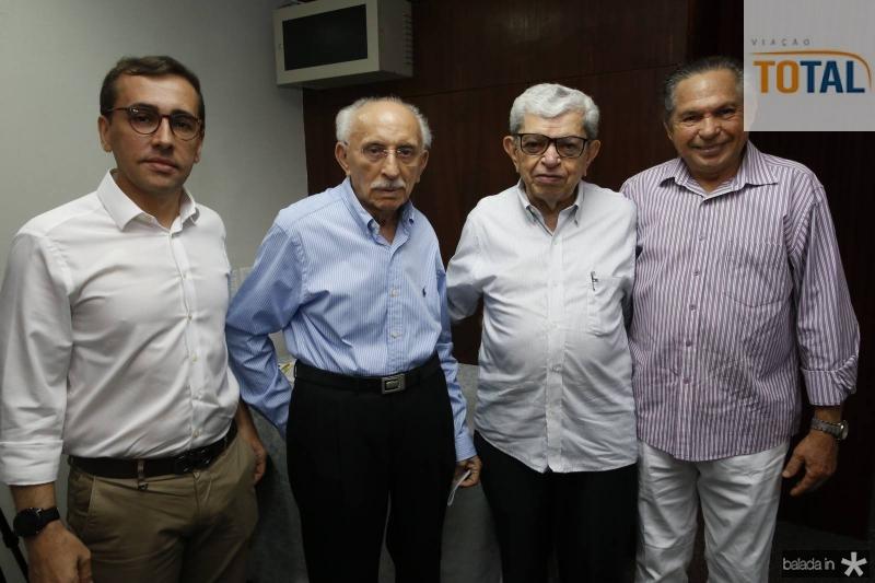 Delano Belchior, Souto Paulino, Pedro Sisnando e Antonio Cambraia