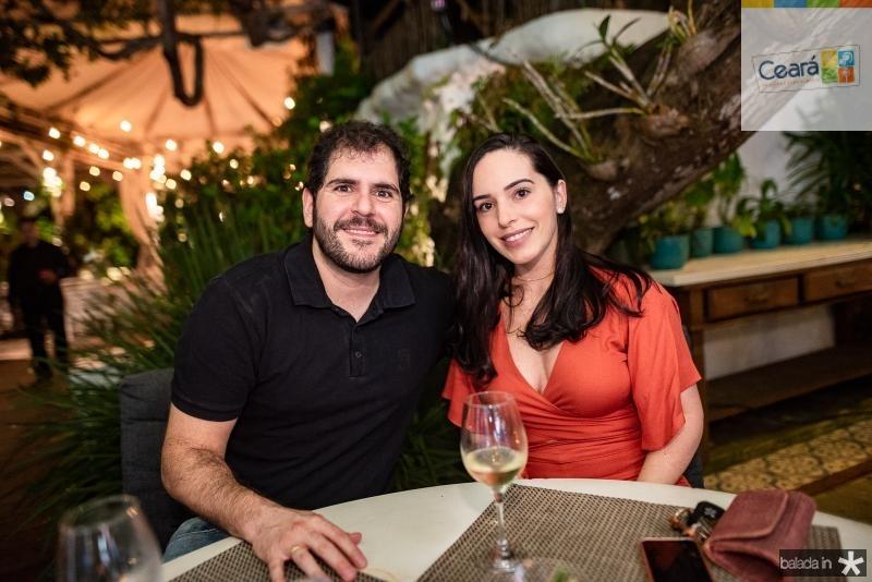 Eduardo Castelon e Fabiana Falcao