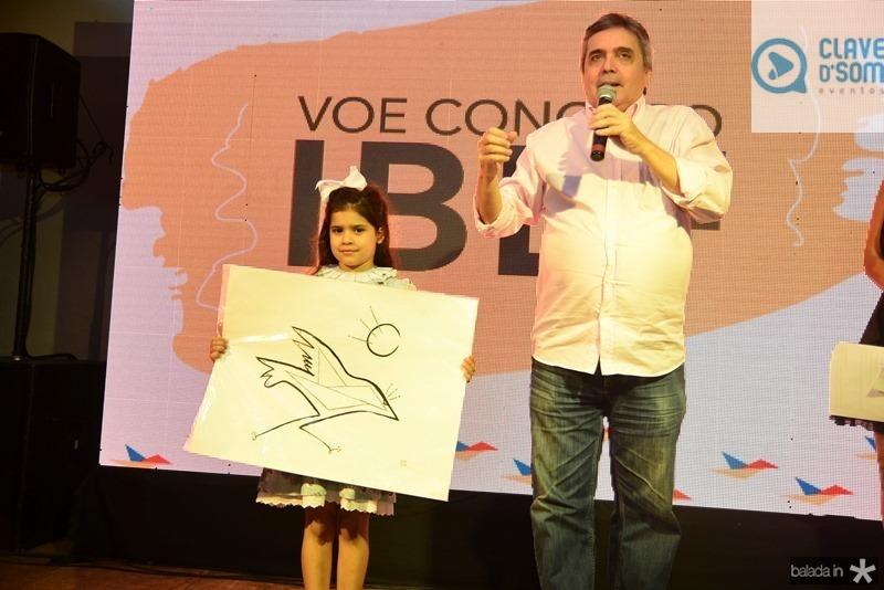 Sofia Fiuza e Totonho Laprovitera