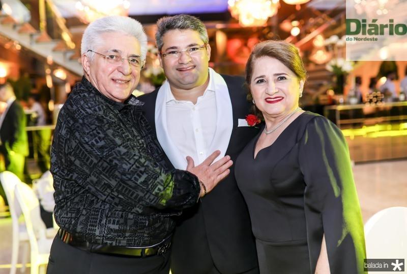 Deusmar, Mario e Auricelia Queiros