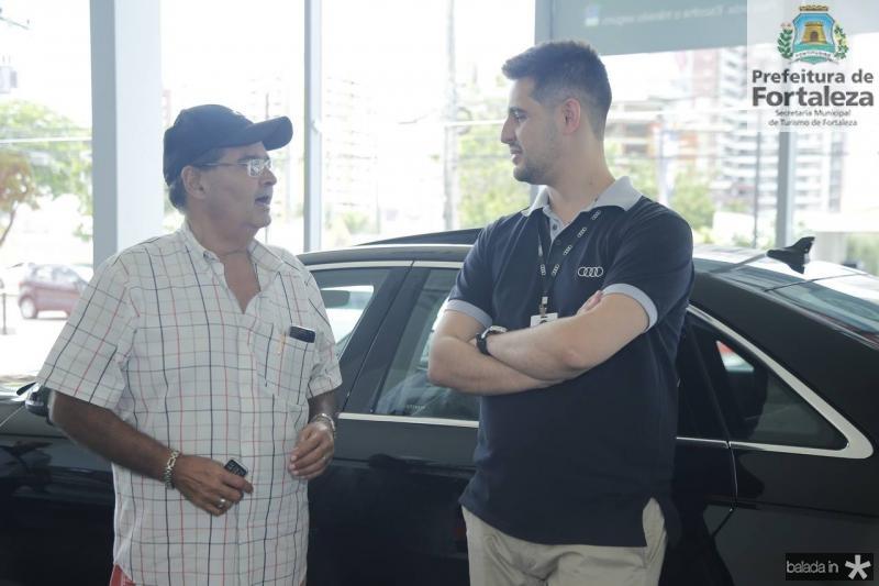 Joao Bezerra e Floriane Gomes