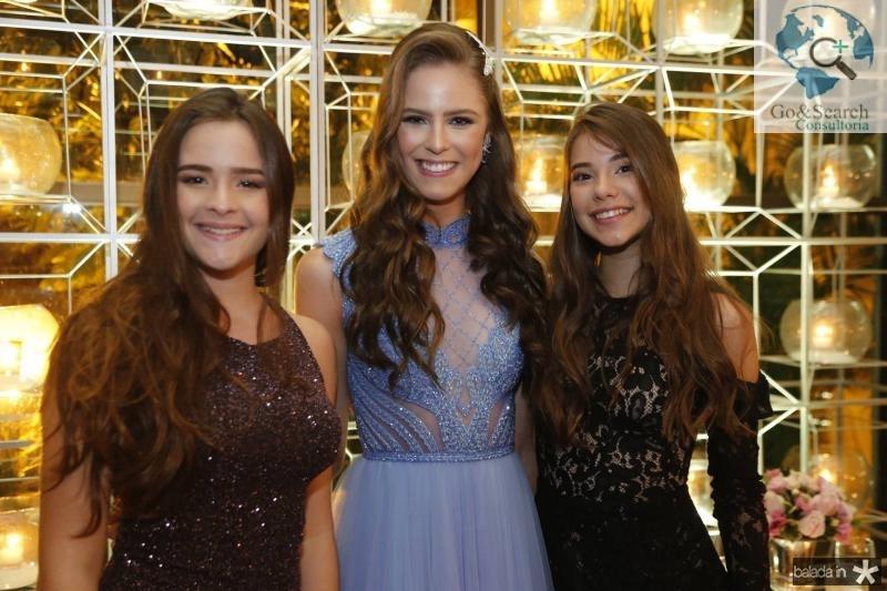 Milena Pinheiro,  Clara Dal Belo e Livia Diogenes