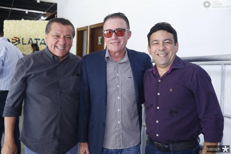 Dede Teixeira, Darlan Leite e Marcos Aurelio
