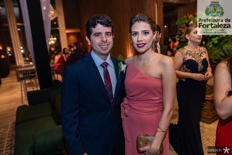 Alexander Palacio e Priscila Antonucci