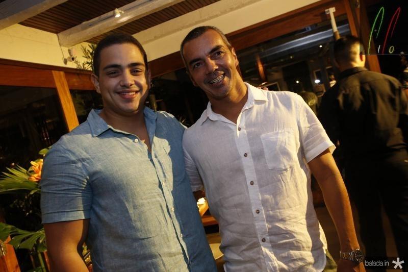 Rafael Pinto e Leonardo Holanda