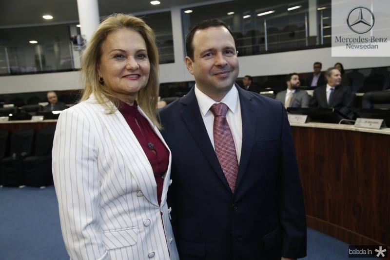 Lenise Rocha e Igor Barroso