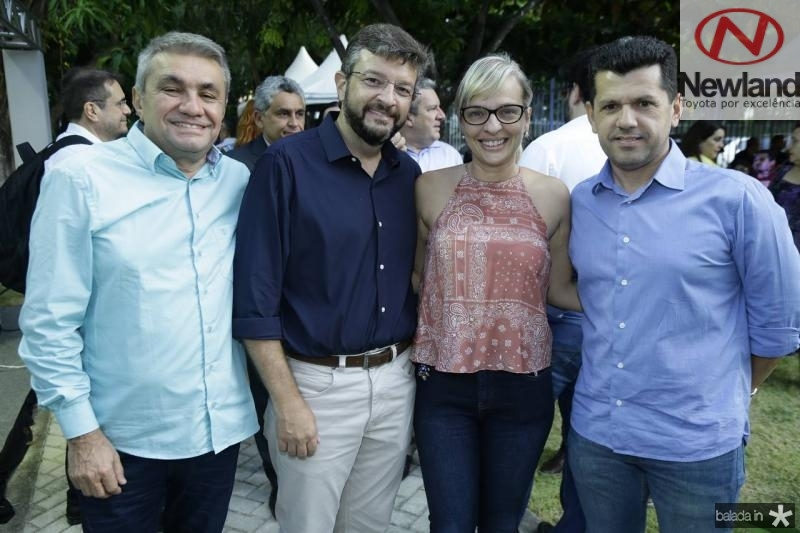 Francisco Sales, Andre Machado, Paola Braga e Erick Vasconcelos