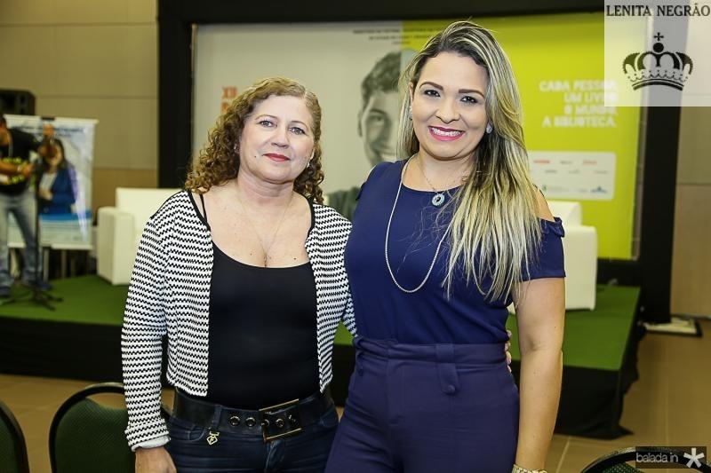 Amelia Cavalcante e Fabiola Pedrosa