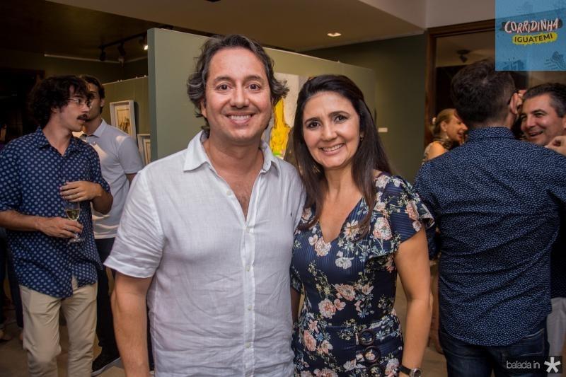 Rodrigo Parente e Luciana Cidrao