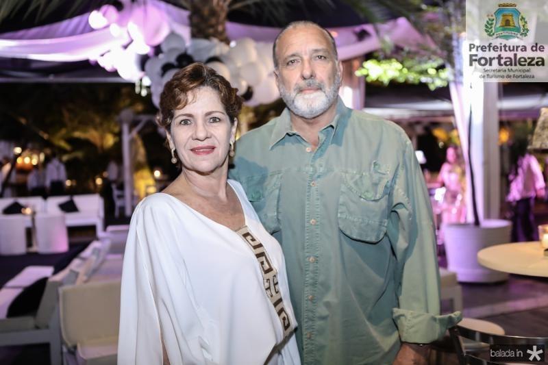Lilian Quindere e Jorge Fiuza