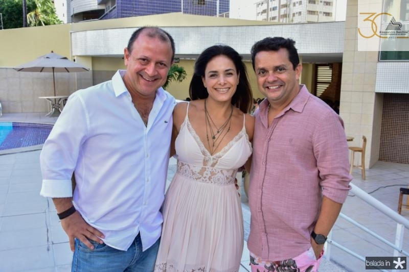 Jorge Reboucas, Manuela Filomeno e Germano Albuquerque