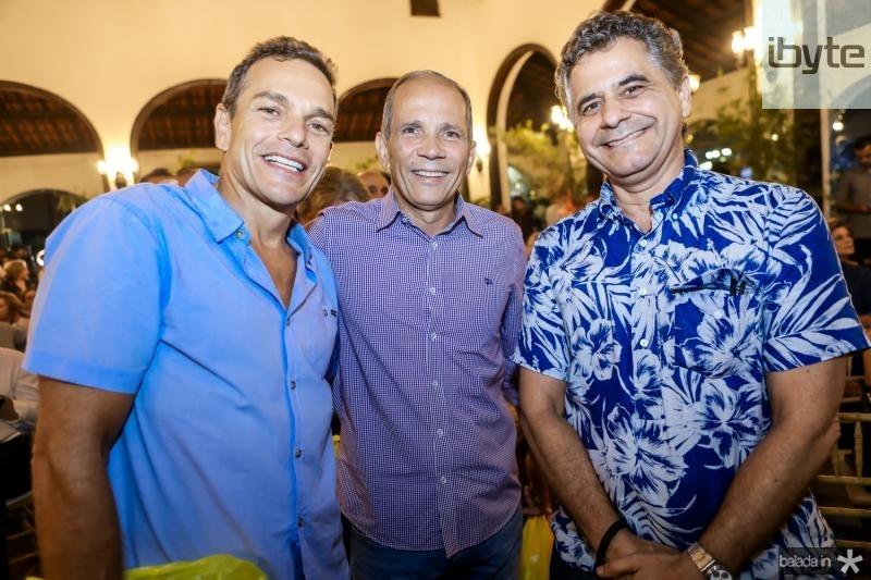 Jose Filho, Henrique Augusto e Marcelo Cavalcante