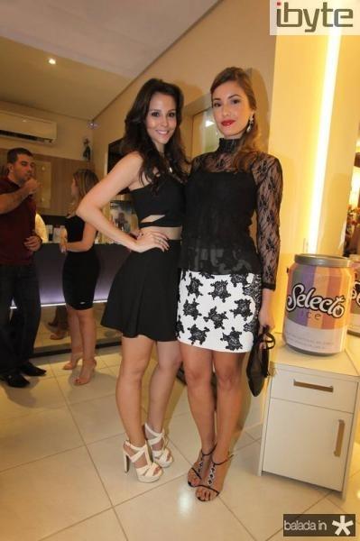 Mariana Vasconcelos e Khisley Karlen