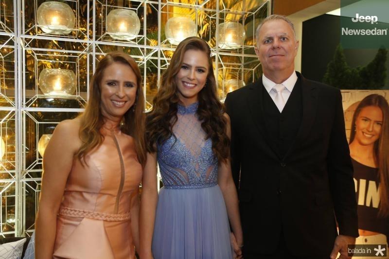 Gabrielle,  Clara e Charles Dal Belo 1