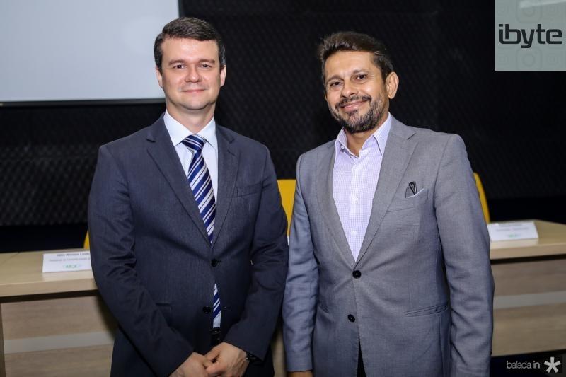 Ariano Melo e Helio Winston