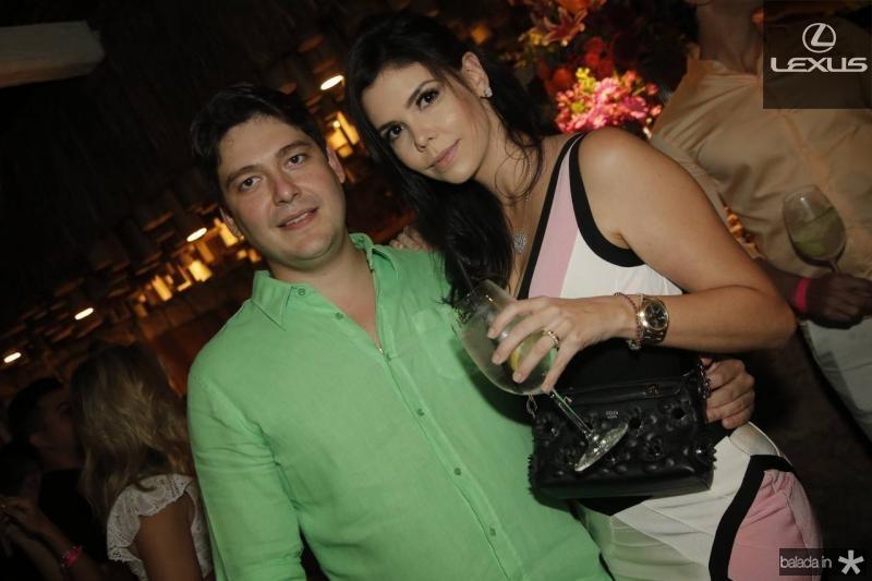 Rosalvo e Milena Carneiro