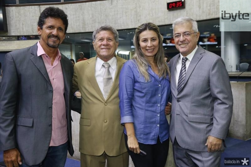 Roberto Lopes, Airton Fernandes, Viena Ponce de Leon e PC Noroes