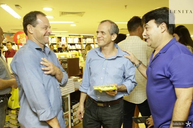 Claudio Pimenta, Mauro Soares e Max Trigueiro