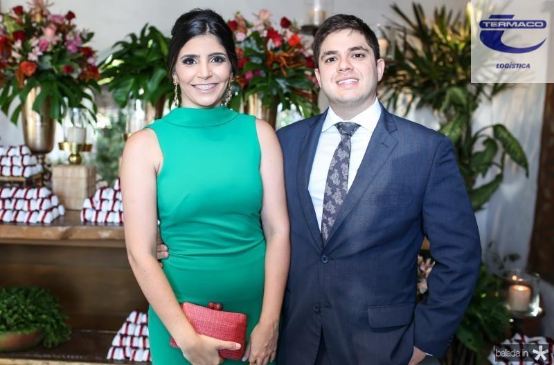 Jessica Figueiredo e Guilherme Camarão