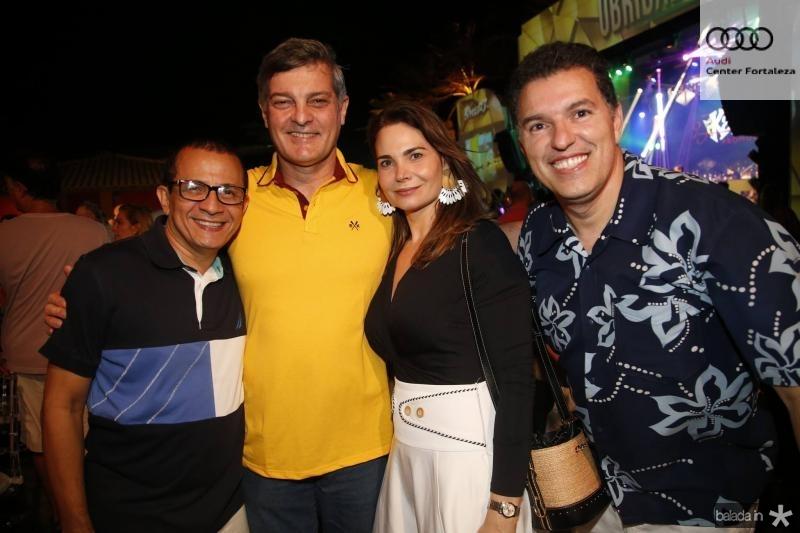 Francisco Barbosa, Cid e Joyce Marconi e Kleber Dias