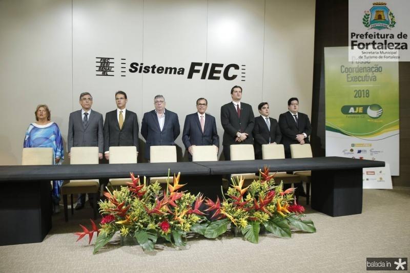 Ana Lucia, Cid Alves, Marcelo Pinheiro, Maia Junior, Beto Studart, Fernando Laureano, Thiago Pinho e Yuri Torquato 2