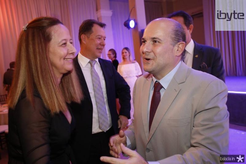 Silvana Fujita e Roberto Claudio