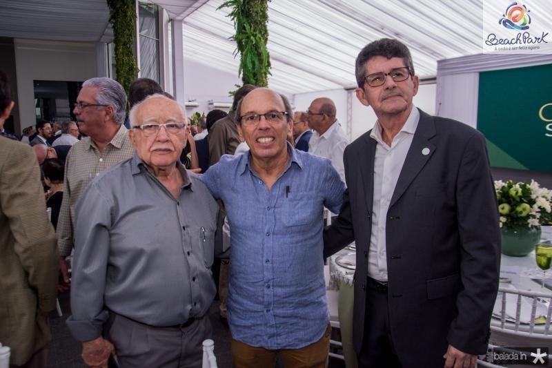 Ubiratan Aguiar, Andre Montenegro e Augustinho Alcantara