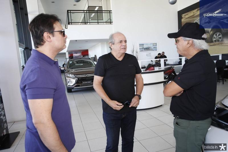 Andre Bastos, Tonze Fernandes e Ricardo Rolim