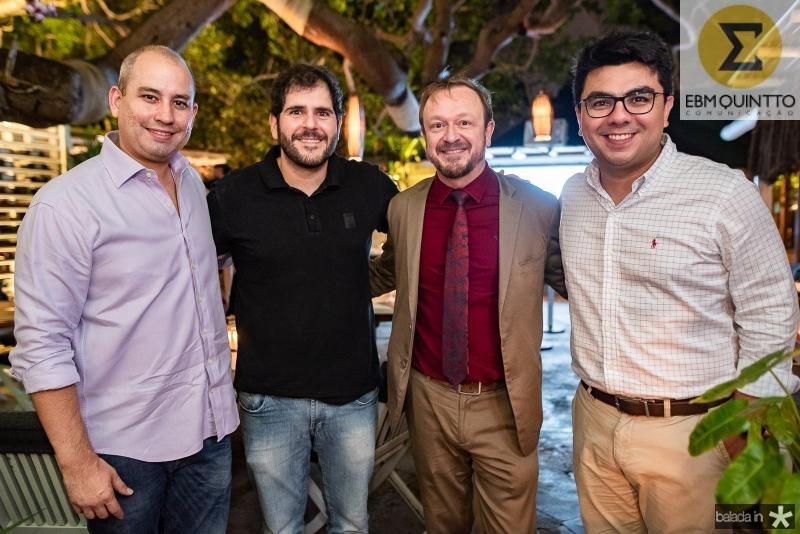 Andre Linheiro, Eduardo Castelon, Francois Hautekeur e  Rolf Campos