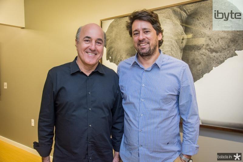 Silvio Frota e Christian Cravo