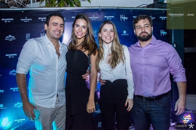 Rodrigo Ventura, Alice Ventura, Manuela Pinto e Adriano Pinto
