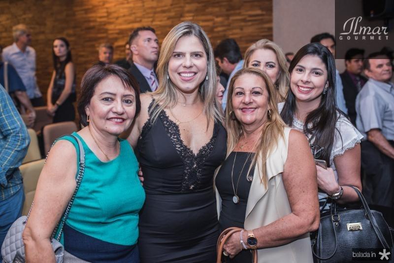 Conceição Andrade, Aline Albuquerque, Cristina Rios e Lia Rios